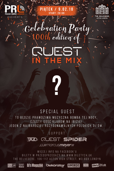 "Celebration Party 100th edition of ""Quest In The Mix"""
