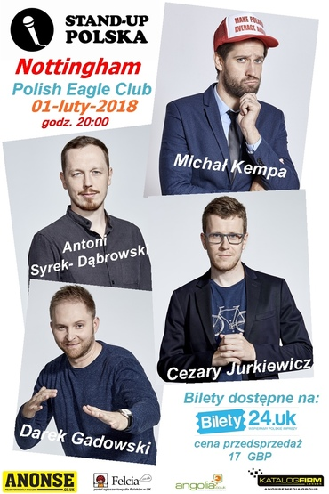 Stand Up Polska w Nottingham