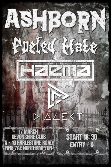 Ashborn + Fueled Hate + Haema + Dialect