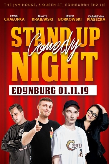 Stand Up Night Edynburg
