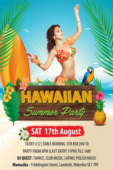 Hawaiian Summer Party