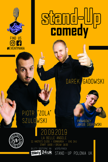 Polski Stand-Up Edinburgh